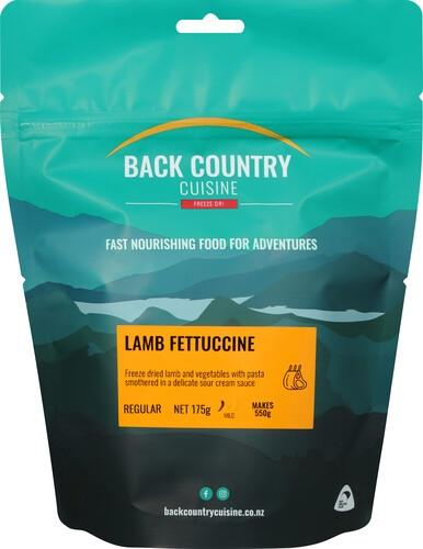 Back Country Cuisine Lamb Fettuccine - Find Your Feet Australia Hobart Launceston Tasmania