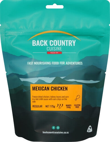 Back Country Cuisine Mexican Chicken - Find Your Feet Australia Hobart Launceston Tasmania