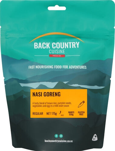 Back Country Cuisine Nasi Goreng - Find Your Feet Australia Hobart Launceston Tasmania