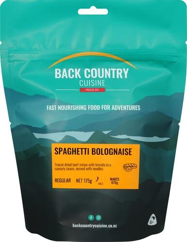Back Country Cuisine Spaghetti Bolognaise - Find Your Feet Australia Hobart Launceston Tasmania
