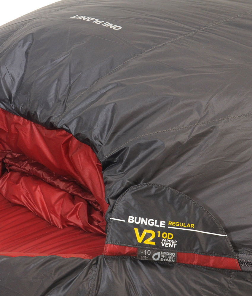 One Planet Bungle -10 800+ DWR Sleeping Bag - Find Your Feet Australia Hobart Launceston Tasmania