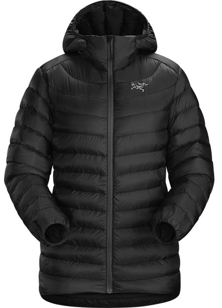 Arcteryx Cerium LT Hoody (Women's) - Black - Find Your Feet Australia Hobart Launceston Tasmania