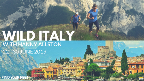 Wild Italy Find Your Feet Trail Running Tour with Hanny Allston