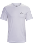 Arcteryx Emblem T-Shirt (Men's) - White - Find Your Feet Australia Hobart Launceston Tasmania