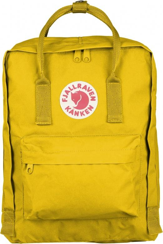 Fjallraven Kanken Backpack - Warm Yellow - Find Your Feet Australia Hobart Launceston Tasmania