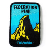 Keep Tassie Wild - Federation Peak Badge - Find Your Feet Australia Hobart Launceston Tasmania