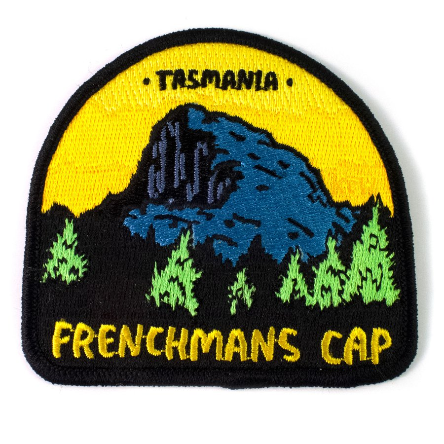 Keep Tassie Wild - Frenchmans Cap Badge - Find Your Feet Australia Hobart Launceston Tasmania