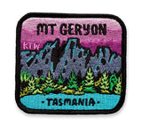 Keep Tassie Wild - Mt Geryon Badge - Find Your Feet Australia Hobart Launceston Tasmania