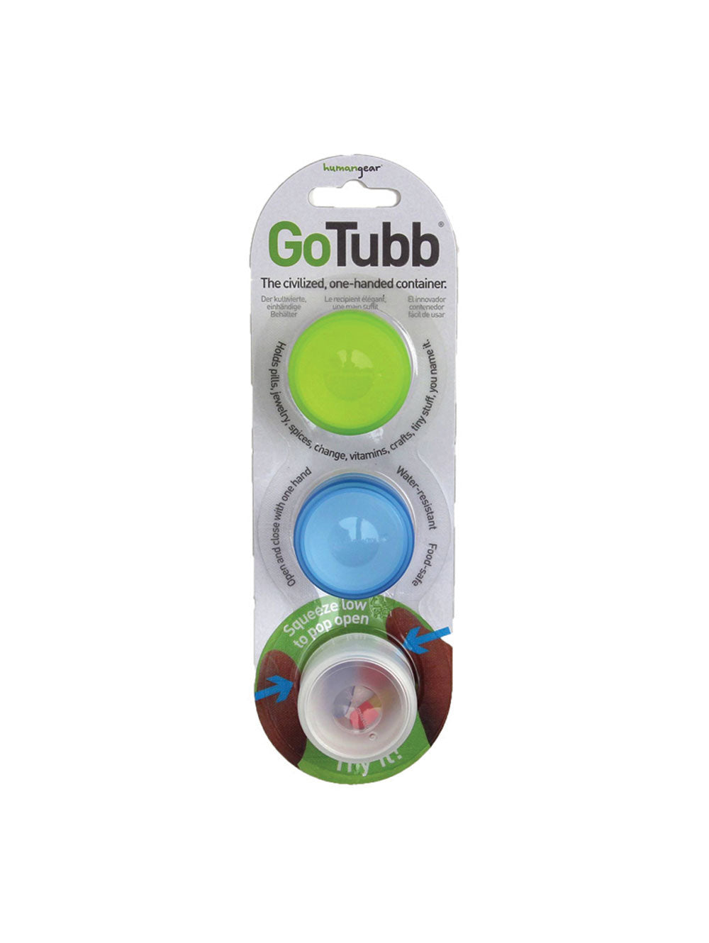 Human Gear Go Tubb 3-Pack - Find Your Feet Australia Hobart Launceston Tasmania
