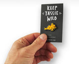 Keep Tassie Wild - Handfish Pin - Find Your Feet Australia Hobart Launceston Tasmania