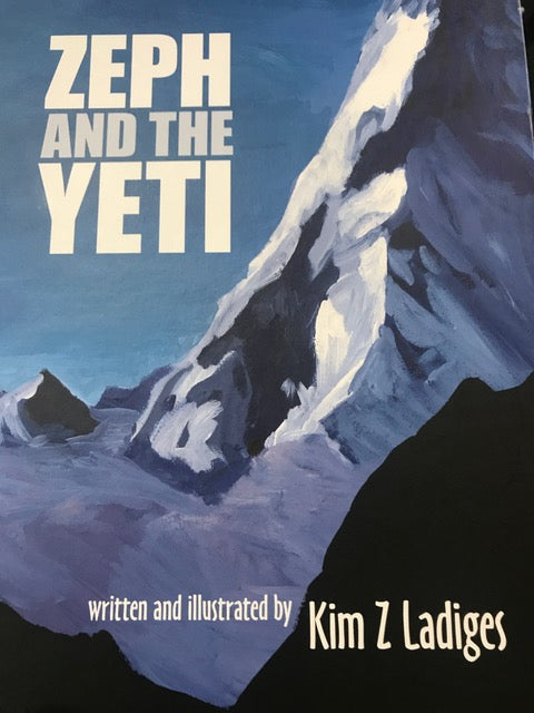 Zeph And The Yeti by Kim Ladiges (Book) Find Your Feet Hobart Tasmania