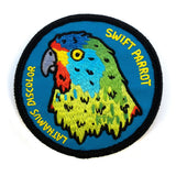 Keep Tassie Wild - Parrot Badge - Find Your Feet Australia Hobart Launceston Tasmania