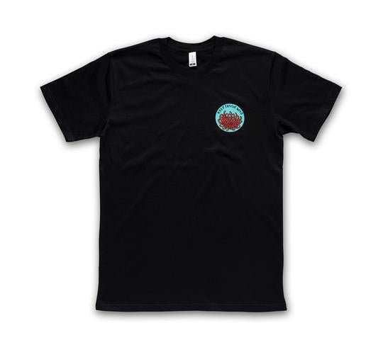 Keep Tassie Wild Waratah Tee (Men's) - Black - Find Your Feet Australia Hobart Launceston Tasmania