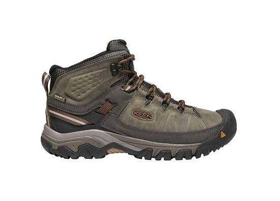 Keen Targhee III Mid WP Boot Mens - Black Olive Golden Brown - Find Your Feet Australia Hobart Launceston Tasmania