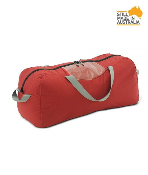 One Planet Industrial Kit Bag 70L Duffle - Red - Find Your Feet Australia Hobart Launceston Tasmania