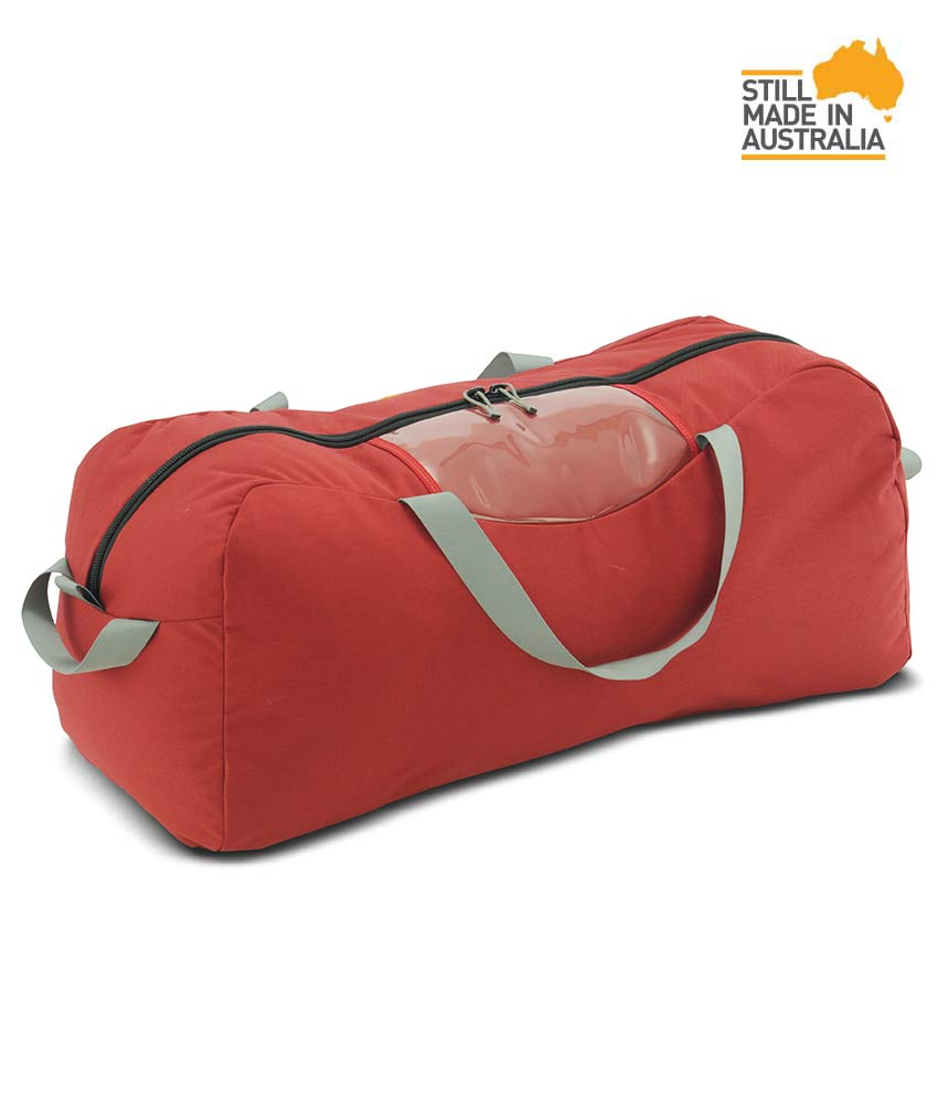 One Planet Industrial Kit Bag 90L Duffle - Red - Find Your Feet Australia Hobart Launceston Tasmania