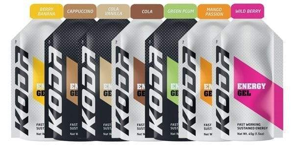 Koda Energy Gels - Find Your Feet Australia Hobart Launceston Tasmania