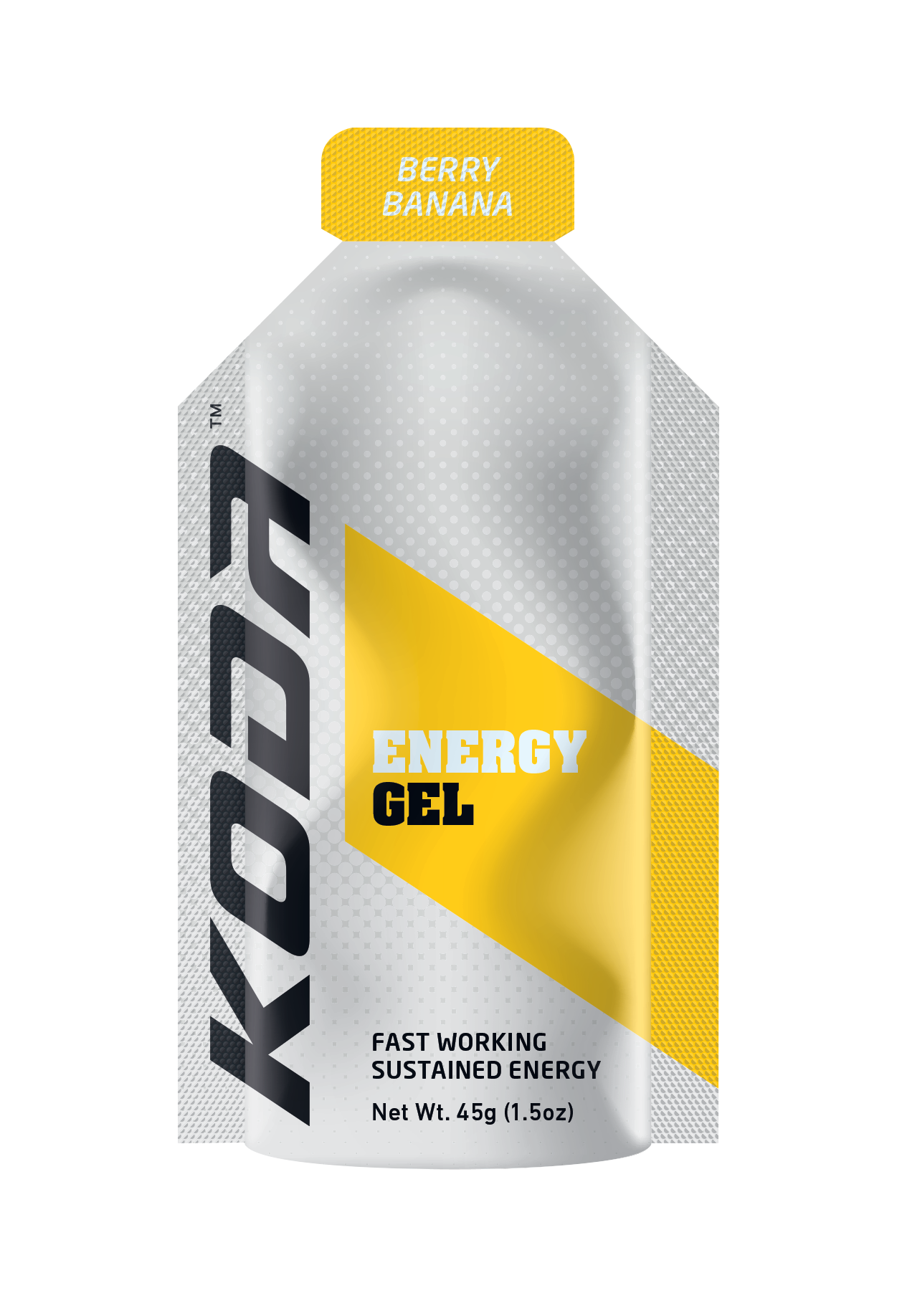 Koda Energy Gels Box Qty (24 Pack) - Berry Banana - Find Your Feet Australia Hobart Launceston Tasmania