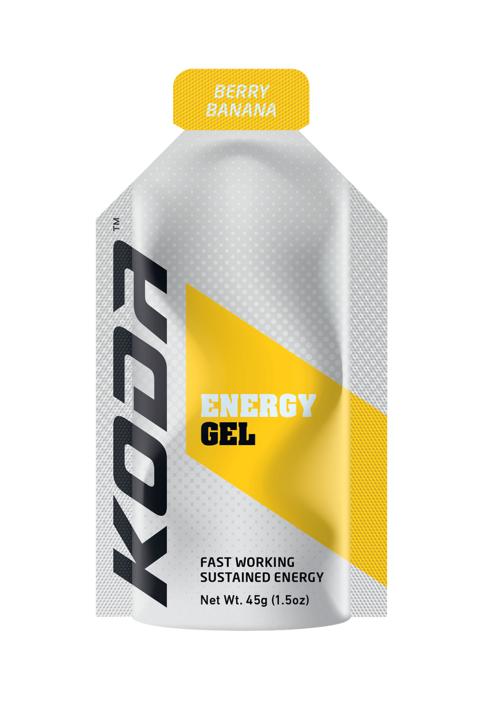 Koda-Shotz Energy Gels Box Qty (24 Pack) Berry Banana - Find Your Feet - Hobart Australia Tasmania Trail Running Hiking