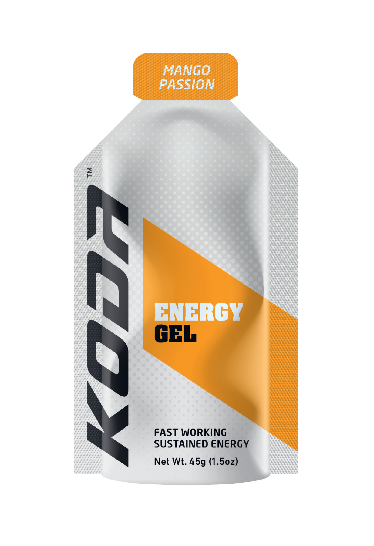 Koda Energy Gels Box Qty (24 Pack) - Mango Passion - Find Your Feet Australia Hobart Launceston Tasmania
