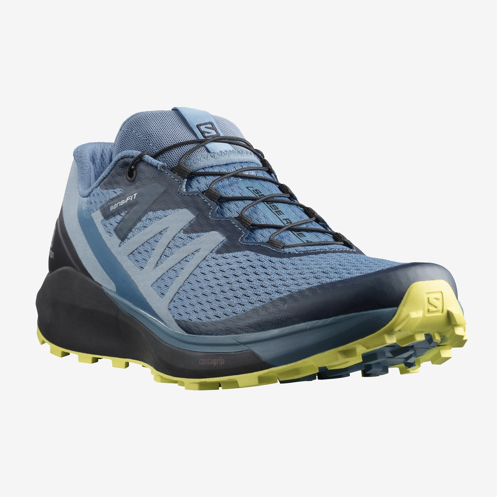 Salomon Sense Ride 4 Trail Running Shoes Copen Blue (Men's) - Find Your Feet Australia Hobart Launceston Tasmania