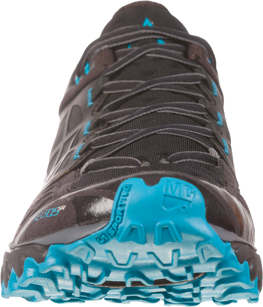 La Sportiva Helios SR Trail Running Shoes (Men's) - Find Your Feet - Hobart Australia Tasmania Black Tropic Blue