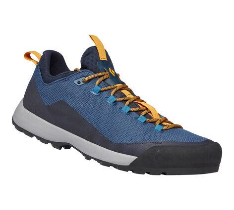 Black Diamond Mission LT Approach Shoe (Men's) - Eclipse Blue-Amber - Find Your Feet Australia Hobart Launceston Tasmania