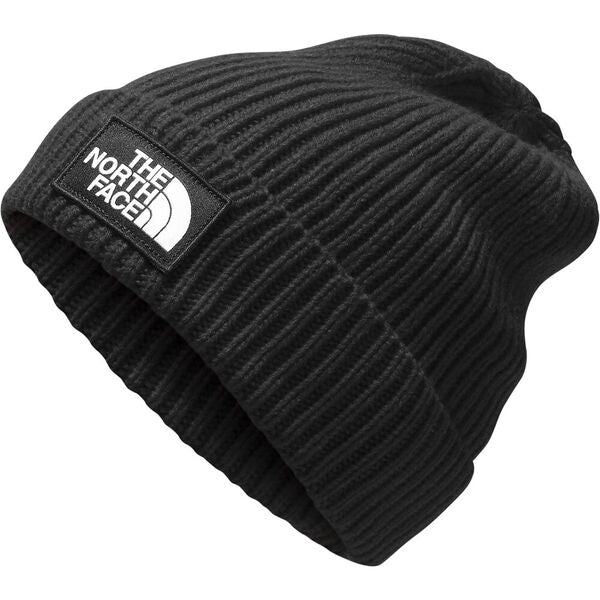 The North Face Logo Box Cuff Beanie - Find Your Feet Australia Hobart Launceston Tasmania