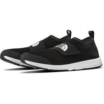 The North Face Cadman Moc Knit Shoe (Men's) Find Your Feet Hobart Australia Black Urban Travel Cushioned