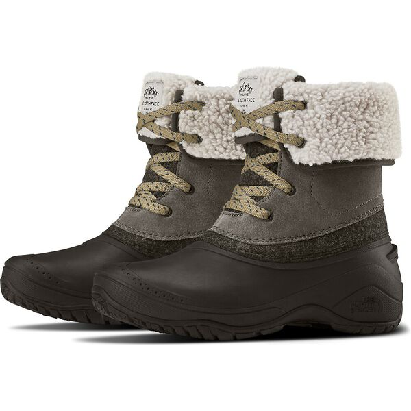 The North Face Shellista II Roll-Down Boots (Women's) - Caribou Demitasse Brown - Find Your Feet Australia Hobart Launceston Tasmania