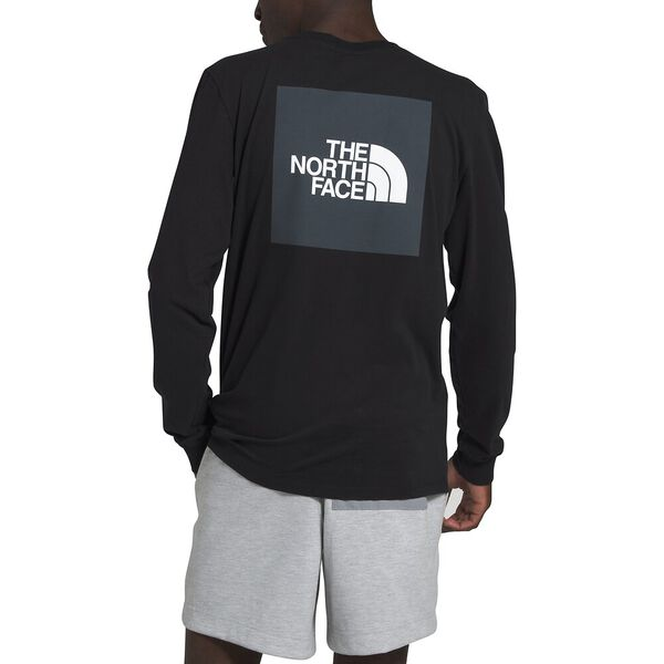 The North Face Box LS Tee (Men's) - TNF Black - Find Your Feet Australia Hobart Launceston Tasmania