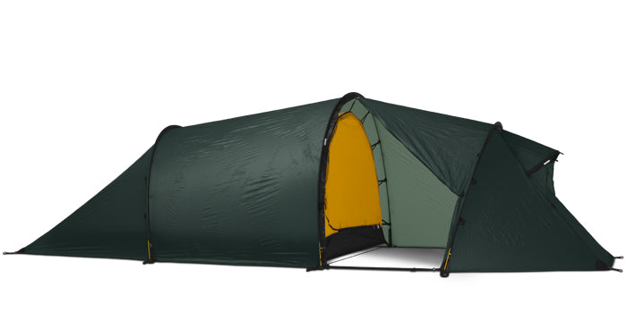 Hilleberg Nallo 3 GT 4 Season Lightweight Hiking Tent - Green - Find Your Feet Australia Hobart Launceston Tasmania