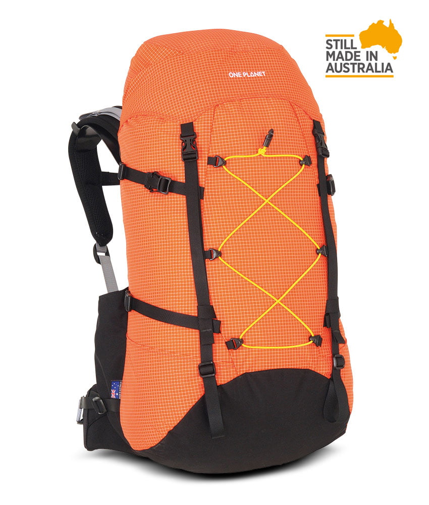 One Planet Extrovert Backpack - Orange - Find Your Feet Australia Hobart Launceston Tasmania