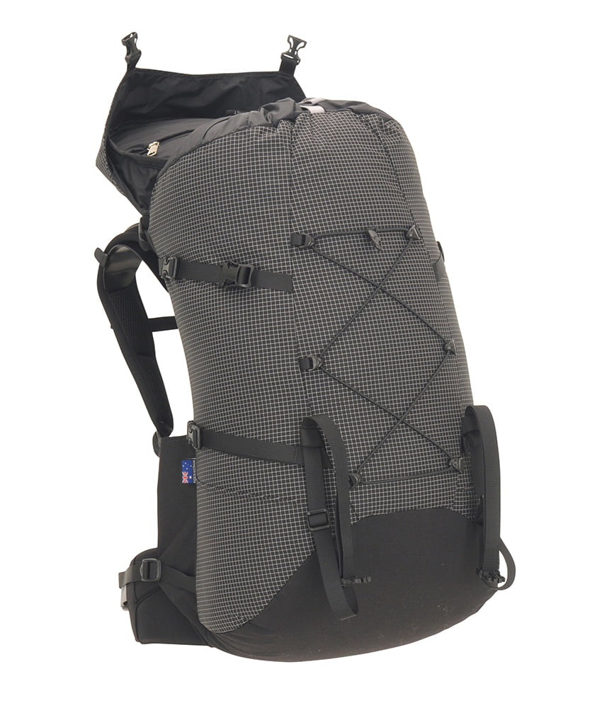 One Planet Extrovert Backpack - Grey Black - Find Your Feet Australia Hobart Launceston Tasmania