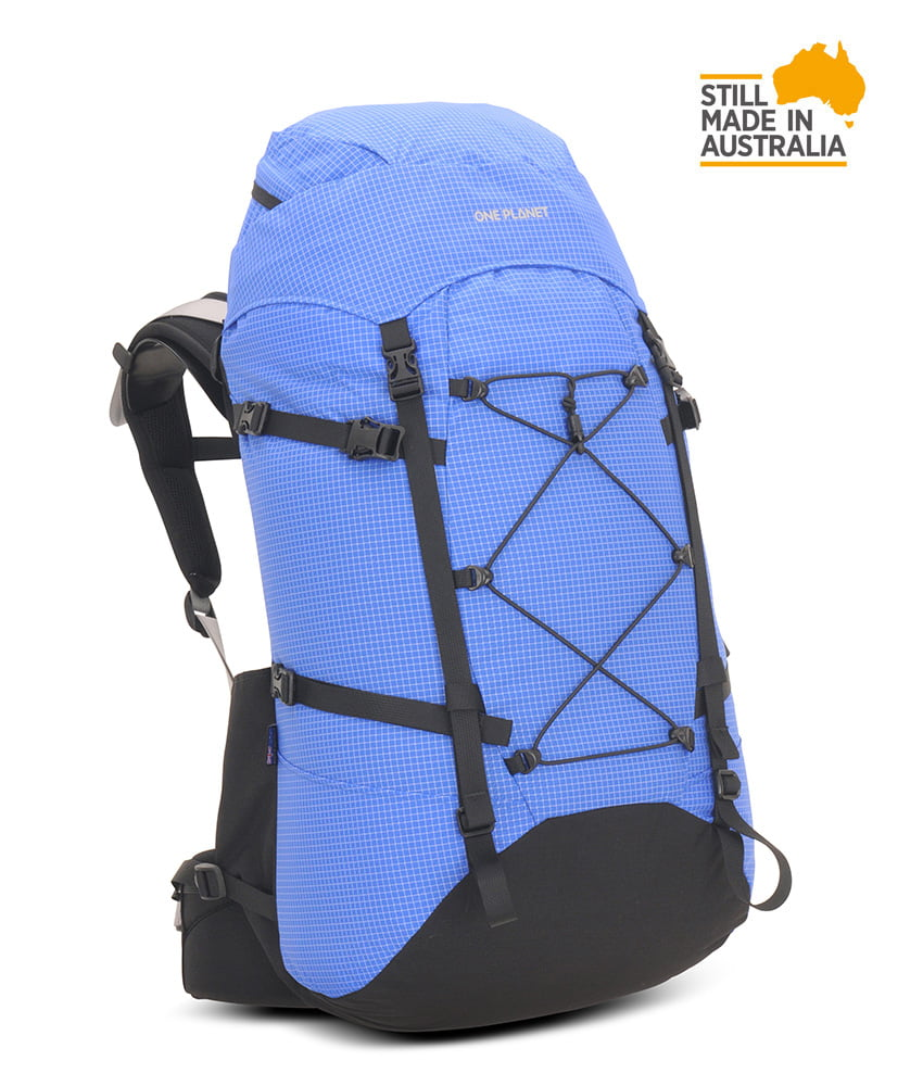 One Planet Extrovert Backpack - Blue Black - Find Your Feet Australia Hobart Launceston Tasmania