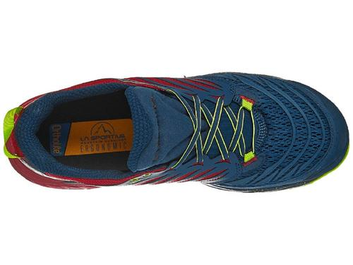 La Sportiva Akasha Trail Running Shoes Opal Chilli (Men's) - Find Your Feet Australia Hobart Launceston Tasmania