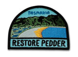 Keep Tassie Wild - Restore Lake Pedder Badge - Find Your Feet Australia Hobart Launceston Tasmania