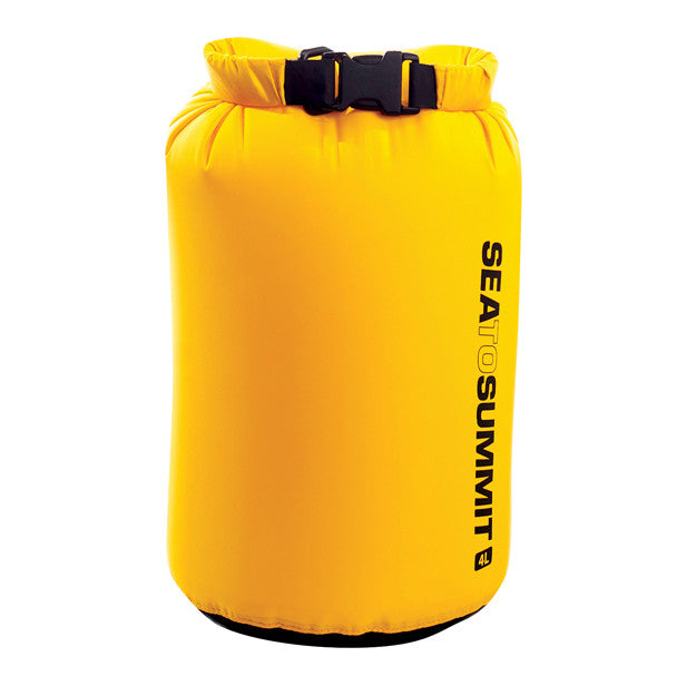 Sea To Summit Lightweight Dry Sack Yellow - Find Your Feet Australia Tasmania Hobart Waterproof Hiking Trail Running Travel