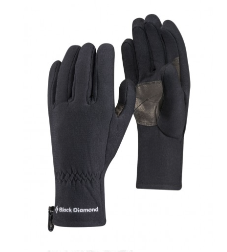 Black Diamond Midweight Fleece Gloves - Find Your Feet Australia Hobart Launceston Tasmania
