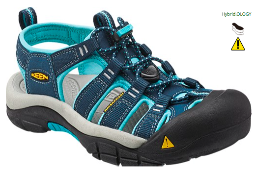 Keen Newport H2 Sandal (Women's) - Poseidon Capri - Find Your Feet Australia Hobart Launceston Tasmania