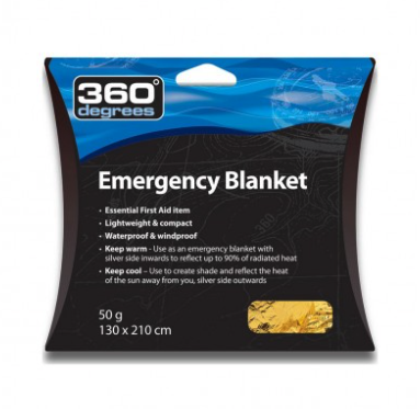 360° Emergency Space Blanket - Find Your Feet - Hobart Australia Tasmania - Mandatory Trail Running Hiking Safety