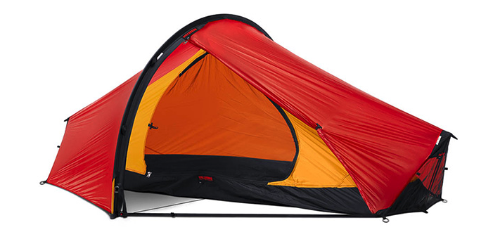Hilleberg Enan Single Person Lightweight Hiking Tent - Red - Find Your Feet Australia Hobart Launceston Tasmania