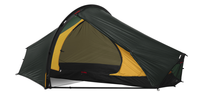 Hilleberg Enan Single Person Lightweight Hiking Tent - Green - Find Your Feet Australia Hobart Launceston Tasmania