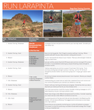 Run Larapinta Stage Race Training Plan Hanny Allston - Find Your Feet Australia