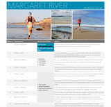 Margaret River Ultra Trail Running Hanny Allston Training Planner