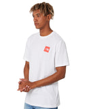 The North Face Red Box SS Tee (Men's) - TNF White - Find Your Feet Australia Hobart Launceston Tasmania