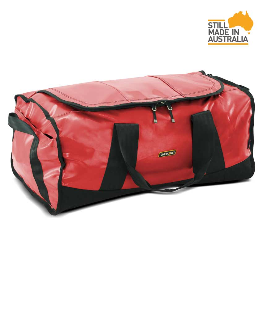 One Planet Tuff-Nut Duffle 90L - Red - Find Your Feet Australia