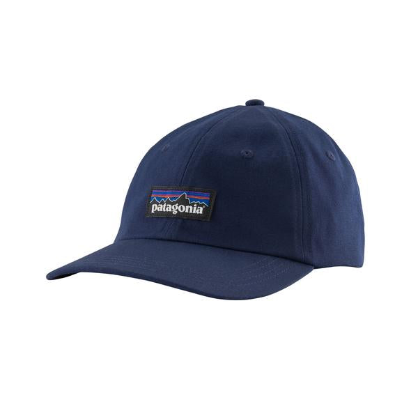 Patagonia P-6 Label Trad Cap - Classic Navy - Find Your Feet Australia Hobart Launceston Tasmania