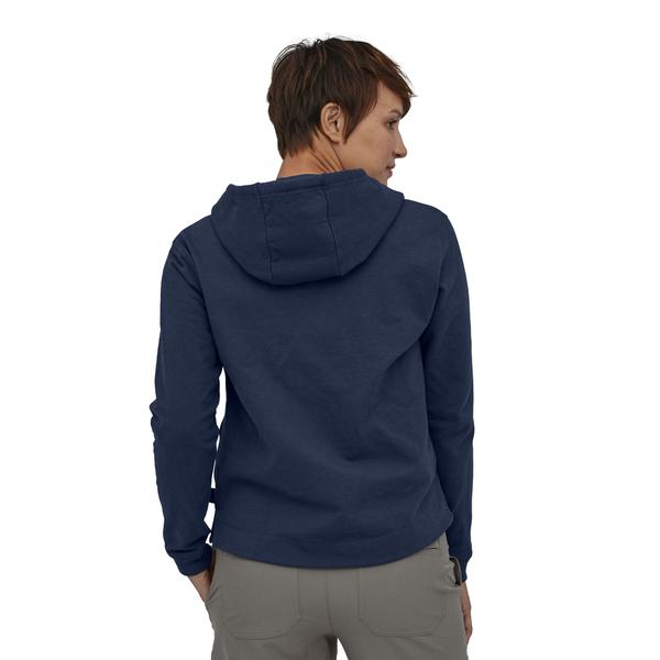 Patagonia Pastel P-6 Logo Uprisal Hoody (Women's) - Classic Navy - Find Your Feet Australia Hobart Launceston Tasmania
