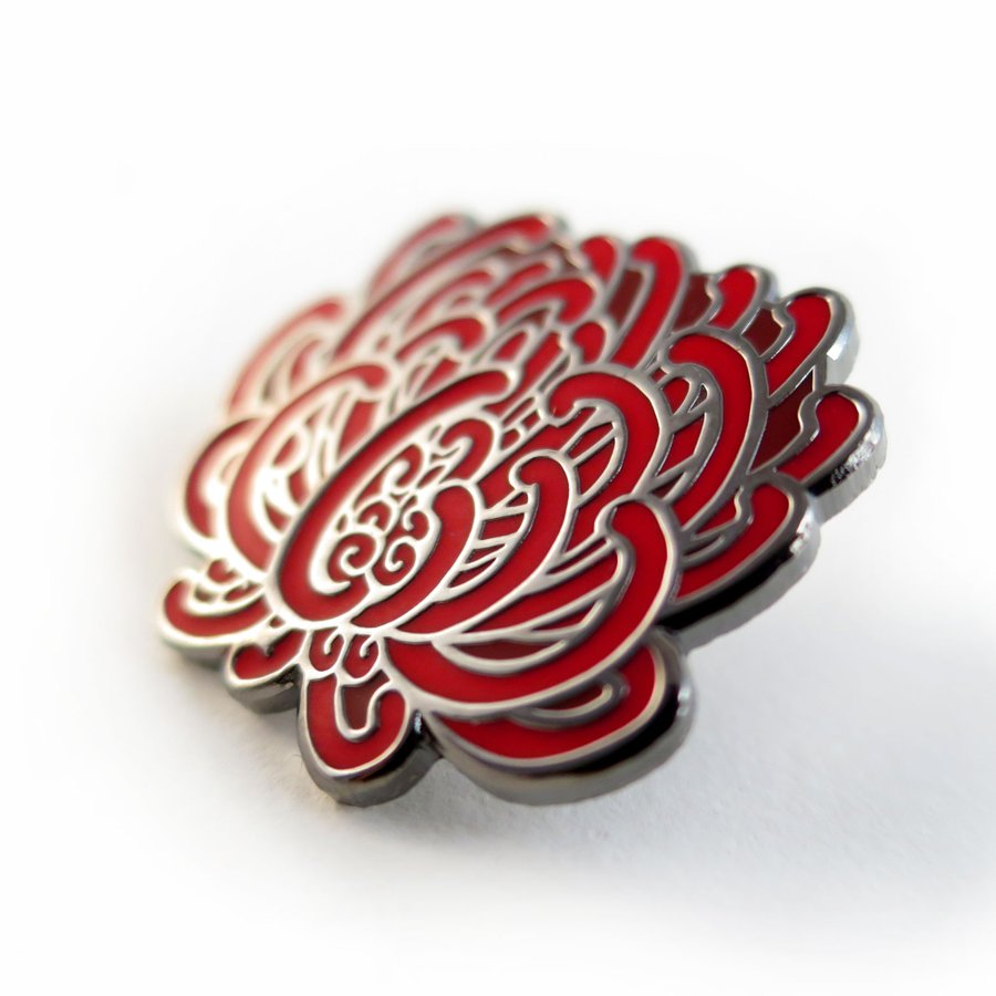 Keep Tassie Wild - Waratah Enamel Pin - Find Your Feet Australia Hobart Launceston Tasmania